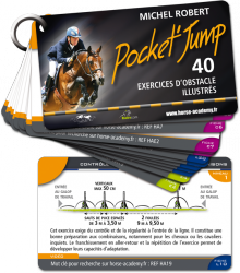 Pocket'Jump : 40 exercices d'obstacle illustrés